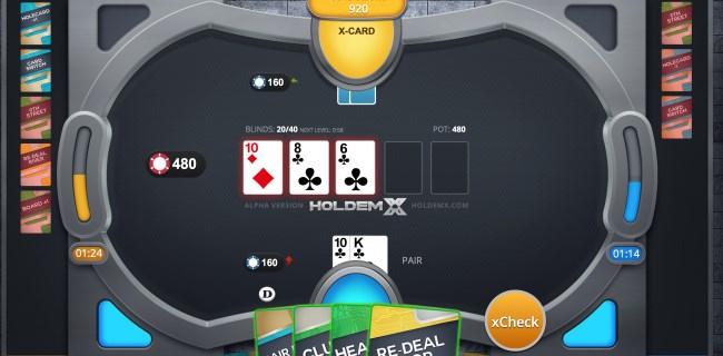 HoldemX pretende revolucionar el juego del poker introduciendo quince nuevas cartas