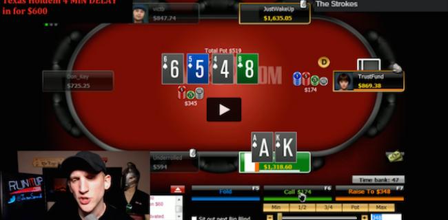 Guía para mejorar en el poker a través de los canales de Twich.tv
