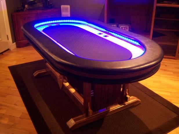 Mesa Led Poker