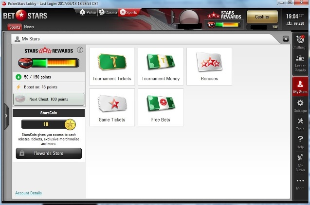 Como conseguir starcoins pokerstars