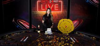 Maria Lampropulos, ganando el partypoker Live!