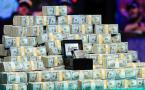 Dinero y brazalete de las WSOP