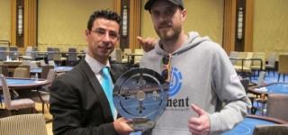 Vicente Serra, ganador de las GPS