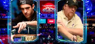 Joe Cada vs. Darvin Moon en nuestro repaso a las WSOP