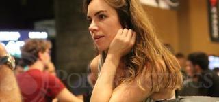 Liv Boeree durante la entrevista