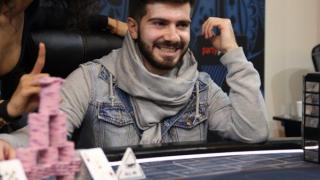 Javier Gómez en el EPT de Praga