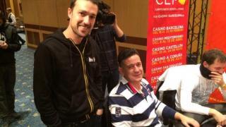 Jordi Martínez con Carlos A. García en el CEP Madrid 2015