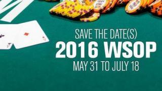 Fechas de las WSOP 2016