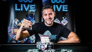 Eliot Hirn se llevó el 888Live Poker de Austria