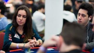 Adrián Mateos coincidió en la mesa con Liv Boeree