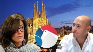 Leo Margets y Alex Dreyfus hablan sobre la GPL en Barcelona