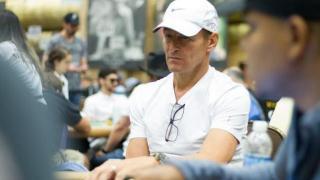 Teddy Sheringham, jugando en las WSOP
