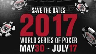 Las WSOP 2017 ya tienen fechas oficiales