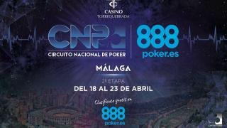 El CNP888 llega hasta Málaga