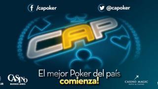 Vuelve el Circuito Argentino de Poker