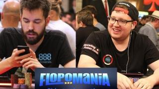 Nitsche y Talbot hablando de Flopomania