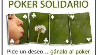 Cartel Poker Solidario