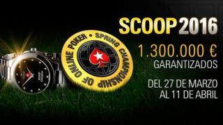 Las SCOOP 2016 vuelven a PokerStars.es