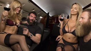 Dan Bilzerian alquiló su avión privado para la campaña de Hillary Clinton