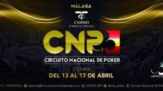 El CNP 5.0 vuelve con la prueba en Málaga