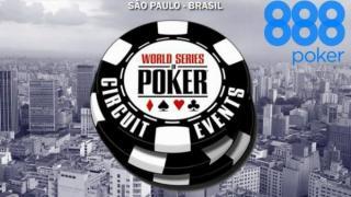 888poker patrocinará las WSOP Circuit de Sao Paulo