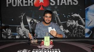 Rehman Kassan, ganador del PokerStars Festival en Londres