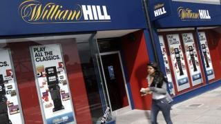 Una de las oficinas para apuestas en vivo de William Hill