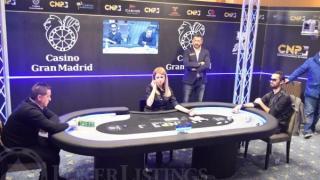 Momento del mano a mano del CNP Gran Final