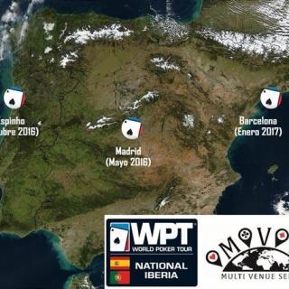 La WPT vuelve a la península ibérica