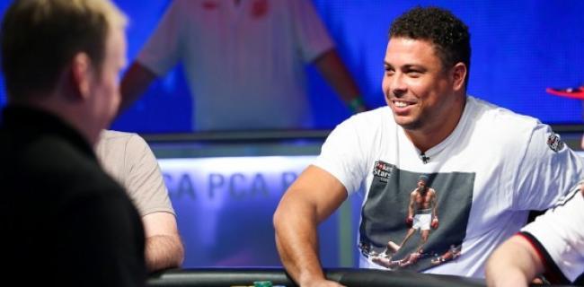 Ronaldo Nazario llegó muy lejos en la PokerStars Caribbean Adventure 2015