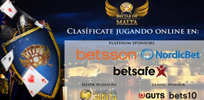 Los Sponsors de la Battle of Malta 2017