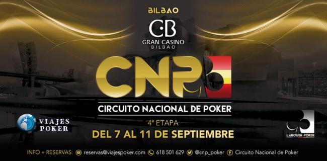 CNP Bilbao, próxima parada de Laroush Poker