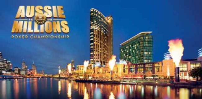 El Aussie Millions llega con el mes de Enero