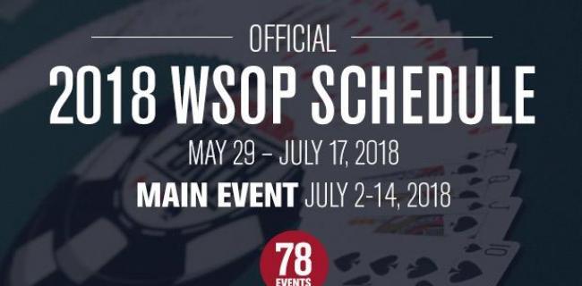 WSOP 2018
