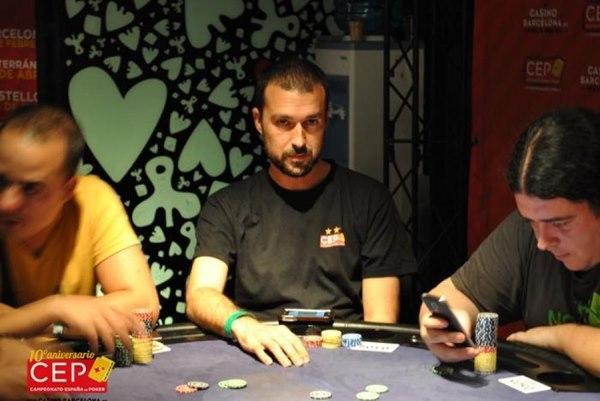 Jordi Martínez volvió a ganar el Campeonato de España de Poker por tercera vez
