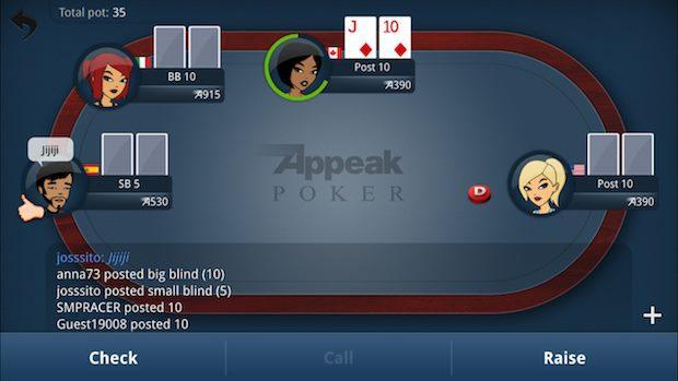 Appeak Poker es la aplicación oficial de PokerListings