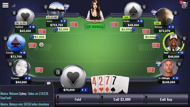 Las WSOP también tienen su aplicación para hacerte sentir en Las Vegas