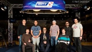 Los últimos ocho jugadores del EPT Praga 2016