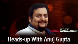 El máximo responsable de Adda52, Anuj Gupta.