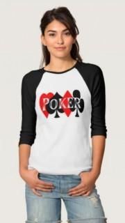 Uno de los modelos de ropa de poker