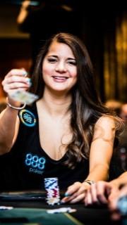 Sofia Lövgren fue una de las profesionales de 888poker que acudieron a Austria