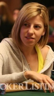 Kristen Bicknell, durante el torneo