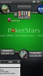 Ya puedes clasificarte para el Sunday Million de PokerStars en PokerListings