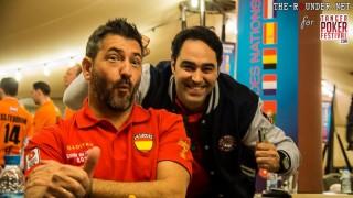 Buen ambiente en el Tánger Poker Festival entre los jugadores de La Roja