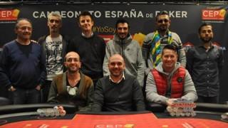 Los nueve jugadores de la Mesa final del CEP Barcelona 2016