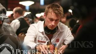 Peter Northug en acción en las mesas de poker