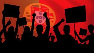 Los jugadores portugueses, enfadados
