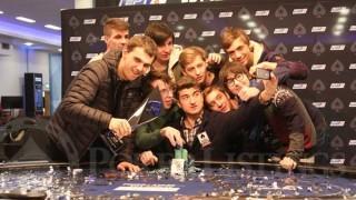 Dzmitry Urbanovich venció en el EPT de Dublín 2016 y lo celebró con sus amigos