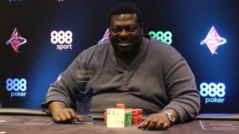 Sam Acheampong fue en ganador del 888live de Londres