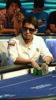 Diego Ventura, jugando en la PCA Bahamas